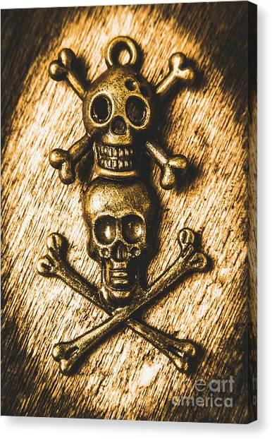 Bones Canvas Print - Buccaneer Bones by Jorgo Photography - Wall Art Gallery