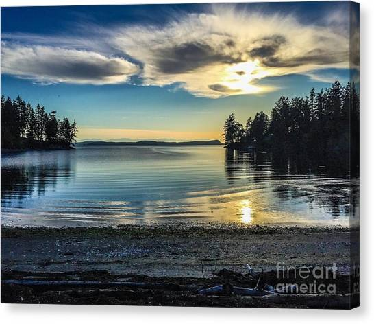 Buck Bay Canvas Print