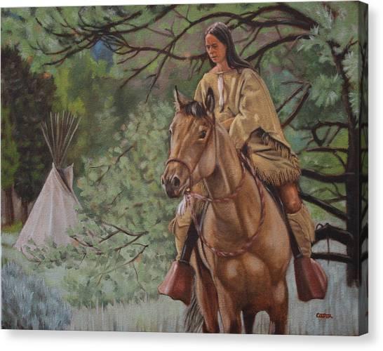 Buckskins Canvas Print
