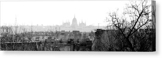 Parliament Hill Canvas Print - Budapest - A Different View by Marc Huebner