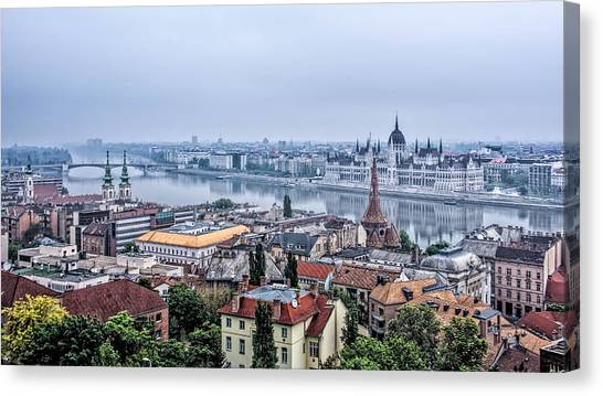Budapest The Hidden Treasure Chest Canvas Print
