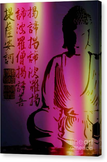 Heart Sutra Canvas Prints | Fine Art America