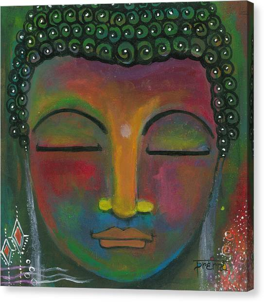 Buddha Painting Canvas Print