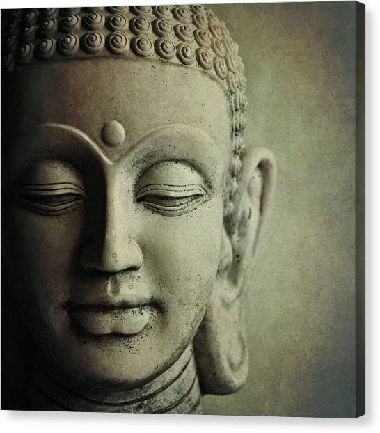 Religious Canvas Print - Buddha by Photo - Lyn Randle