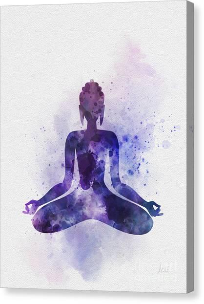 Buddha Canvas Print - Buddha by Rebecca Jenkins