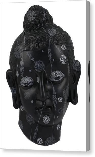Buddha - Relief-4 Canvas Print