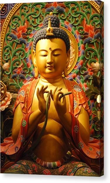 Buddha Canvas Print by Susette Lacsina