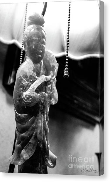 Buddha's Light Canvas Print