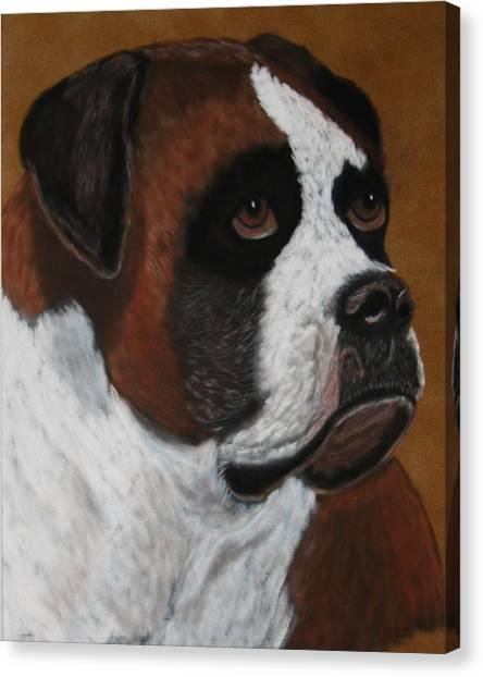 Buddy Canvas Print by Lori DeBruijn
