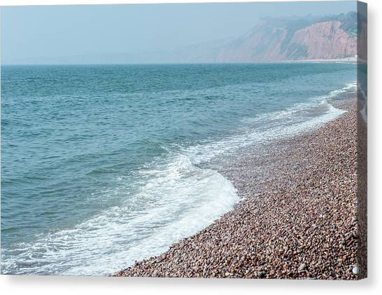 Budleigh Seascape II Canvas Print