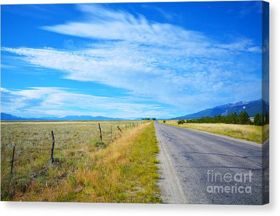 Canvas Print featuring the photograph Buena Vista by Kate Avery