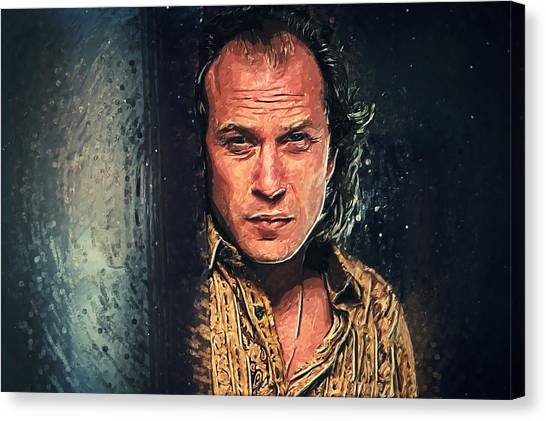 Anthony Hopkins Canvas Print - Buffalo Bill by Zapista