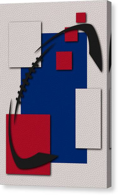 Buffalo Bills Canvas Print - Buffalo Bills Football Art by Joe Hamilton