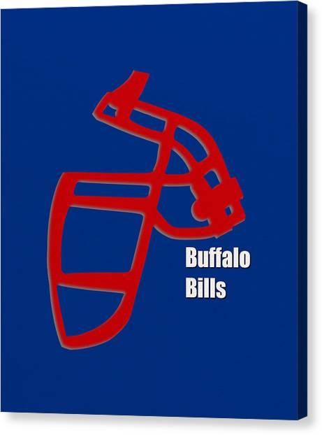 Buffalo Bills Canvas Print - Buffalo Bills Retro by Joe Hamilton