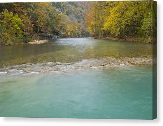Buffalo River - 4589 Canvas Print