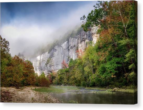 Buffalo River Autumn Canvas Print