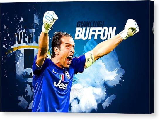 Mls Canvas Print - Buffon by Semih Yurdabak