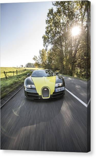 Bugatti Veyron Supersport Canvas Print
