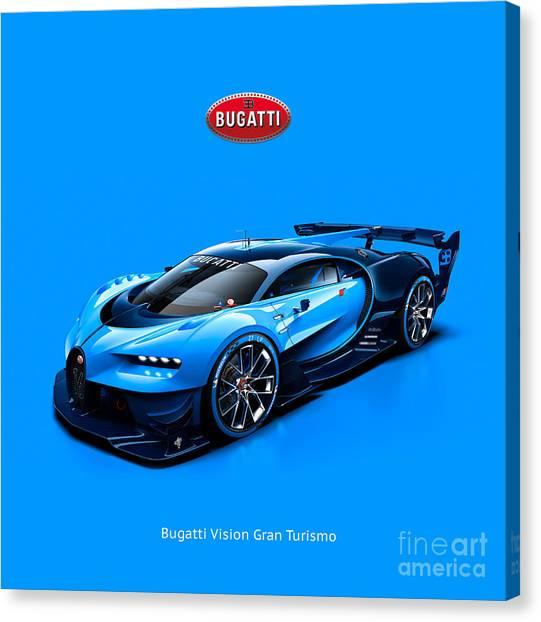 Bugatti Vision Gran Turismo Canvas Print