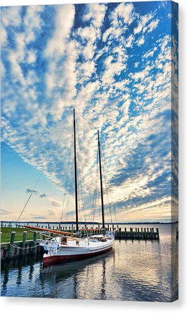 Bugeye - Chesapeake Maritime Museum Canvas Print