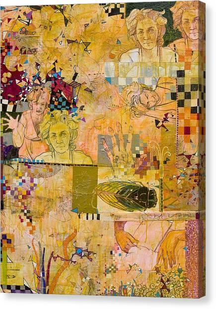 Bugged Canvas Print by Chris Monette Appleton