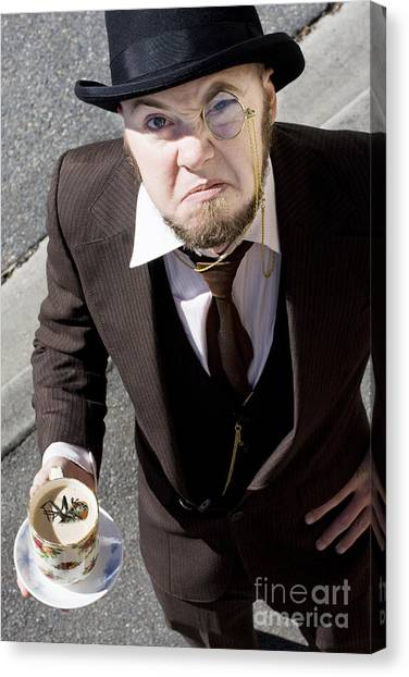 Drown Canvas Print - Bugged Man by Jorgo Photography - Wall Art Gallery