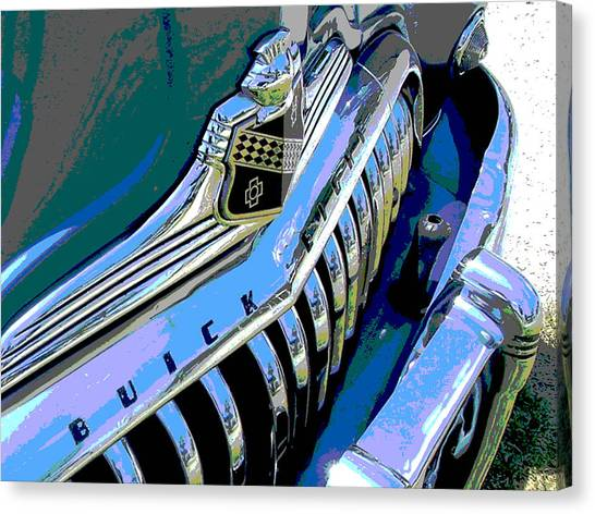 Buick Eight Canvas Print by Audrey Venute