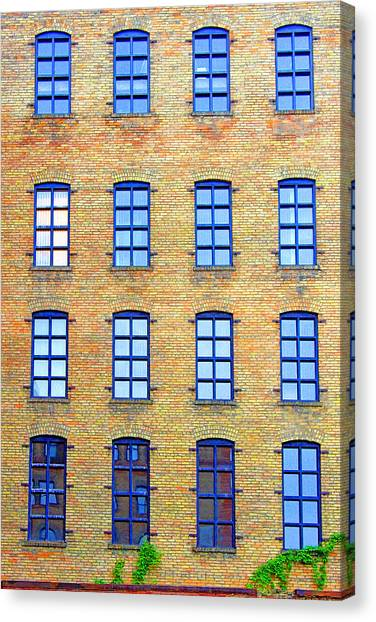 Building Windows Canvas Print