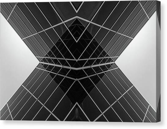 Building X Canvas Print
