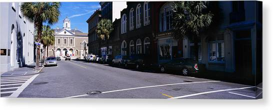 Dungeons Canvas Print - Buildings On Both Sides Of A Road by Panoramic Images