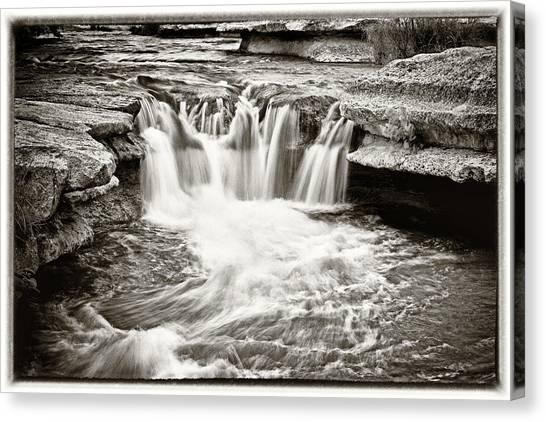 Bull Creek Water Run Canvas Print