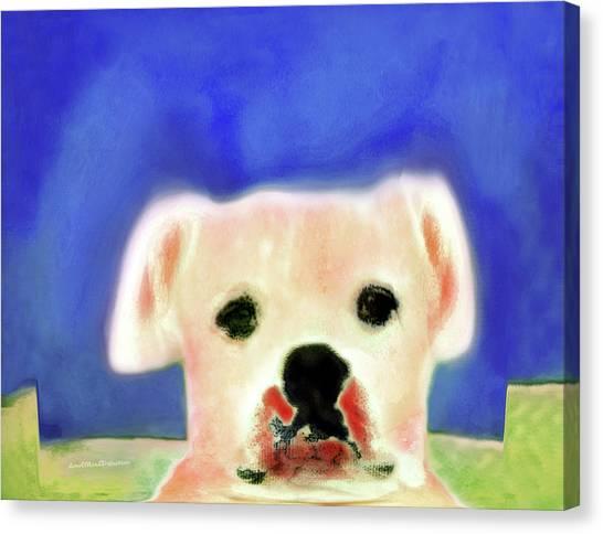 Bulldog Rana Art 7 Canvas Print
