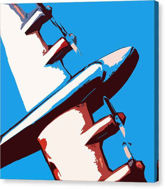 Prop Planes Canvas Print - Bullet Plane by Slade Roberts