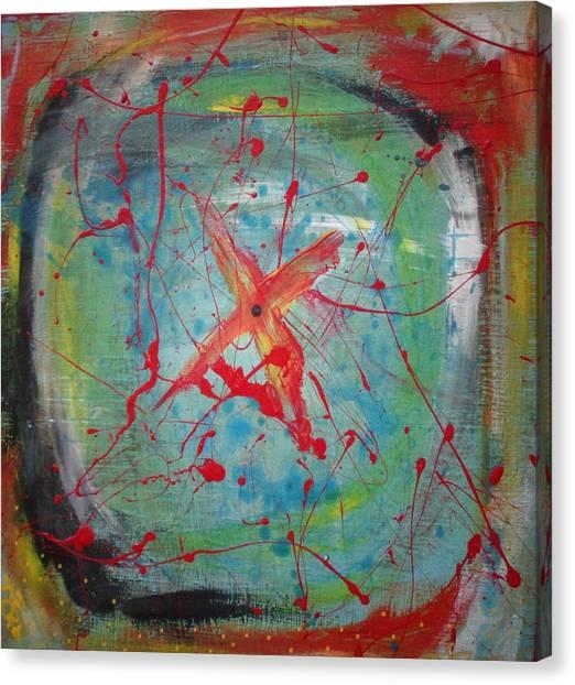 Bullseye Vision Canvas Print