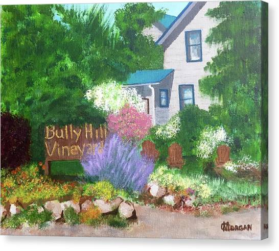 Bully Hill Vineyard Canvas Print