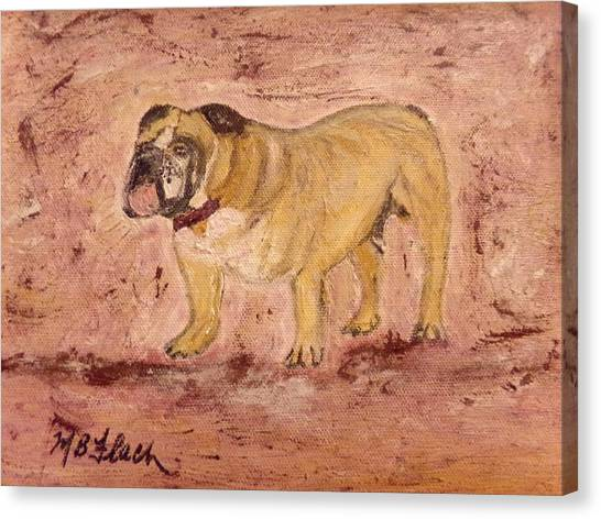 Mississippi State University Canvas Print - Bully by Mary Flach