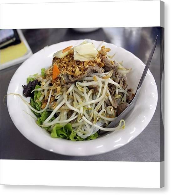 Vietnamese Canvas Print - Bun No Nam Bo #food #foodpics by Jesper Staunstrup