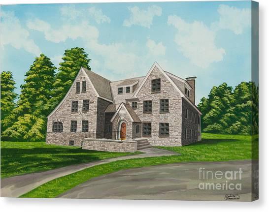 New York University Canvas Print - Bunch House by Charlotte Blanchard