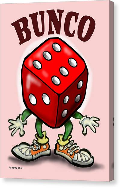 Bunco Canvas Print