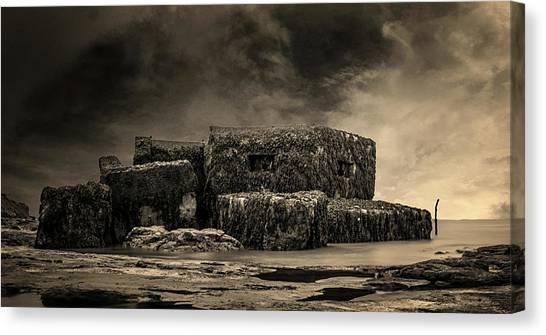 Cold War Canvas Print - Bunker by Martin Newman