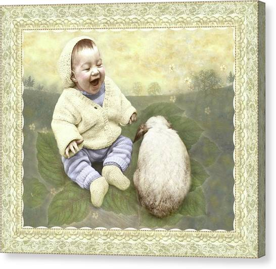 Funny Buddies Canvas Print