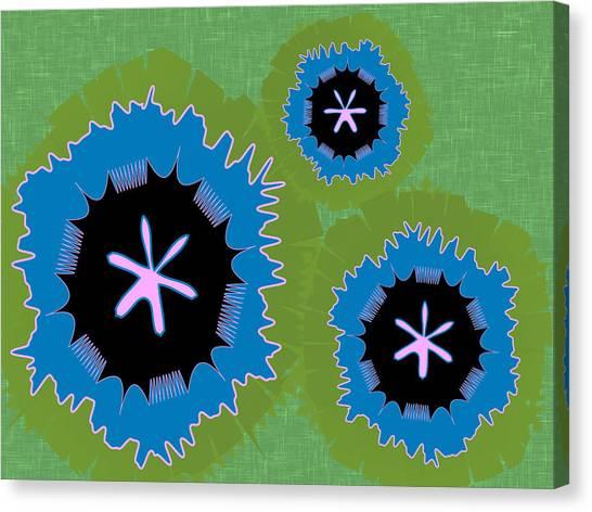 Bunny Flower Canvas Print