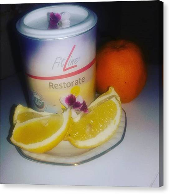 Lemons Canvas Print - #buonanotte🌕 by Prodotti Fitline E Beautyline