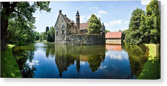 Castle Canvas Print - Burg Vischering by Dave Bowman