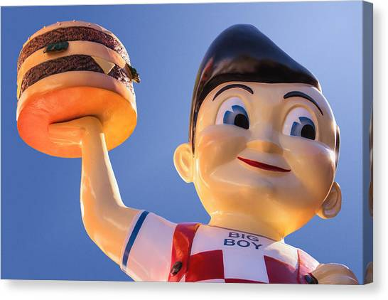 Burger Bob Canvas Print