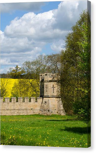 Burghley House Fortifications Canvas Print