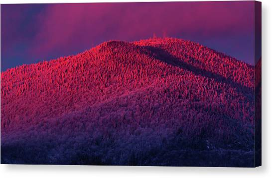 Burke Alpenglow Canvas Print