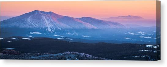 Burke To Moosilauke Canvas Print