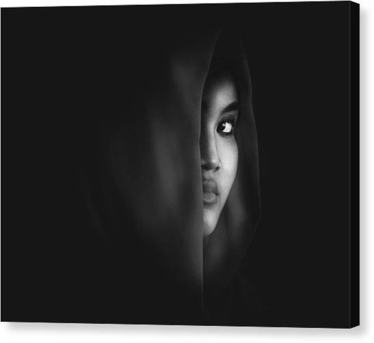 Mood Canvas Print - Burn Eye by Ivan Marlianto