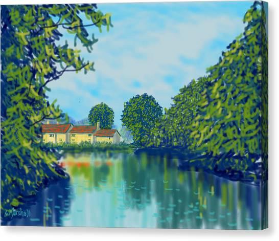 Burnby Hall Canvas Print